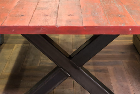 Barn red - X tafel