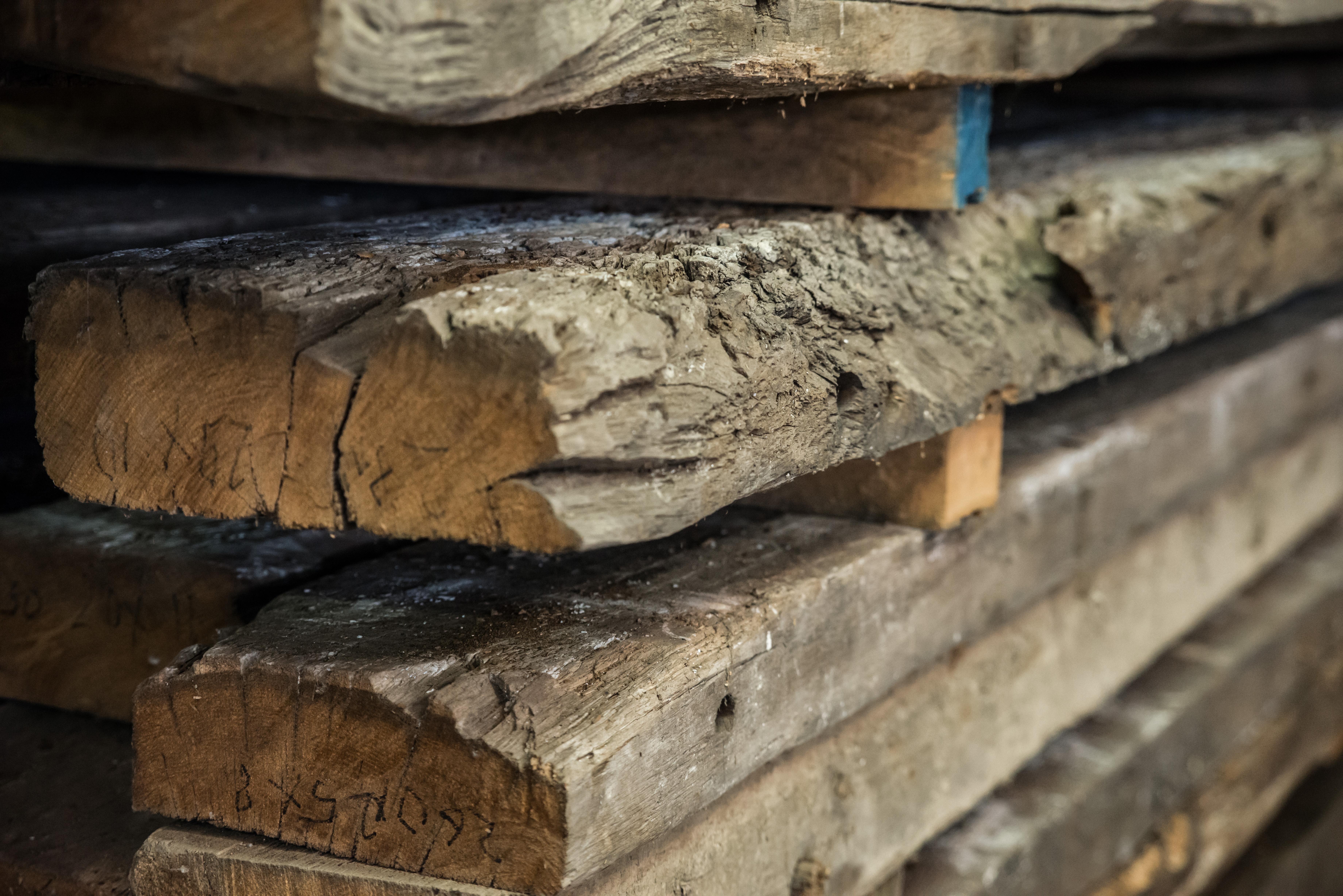 oude eikenhouten balken elder oak