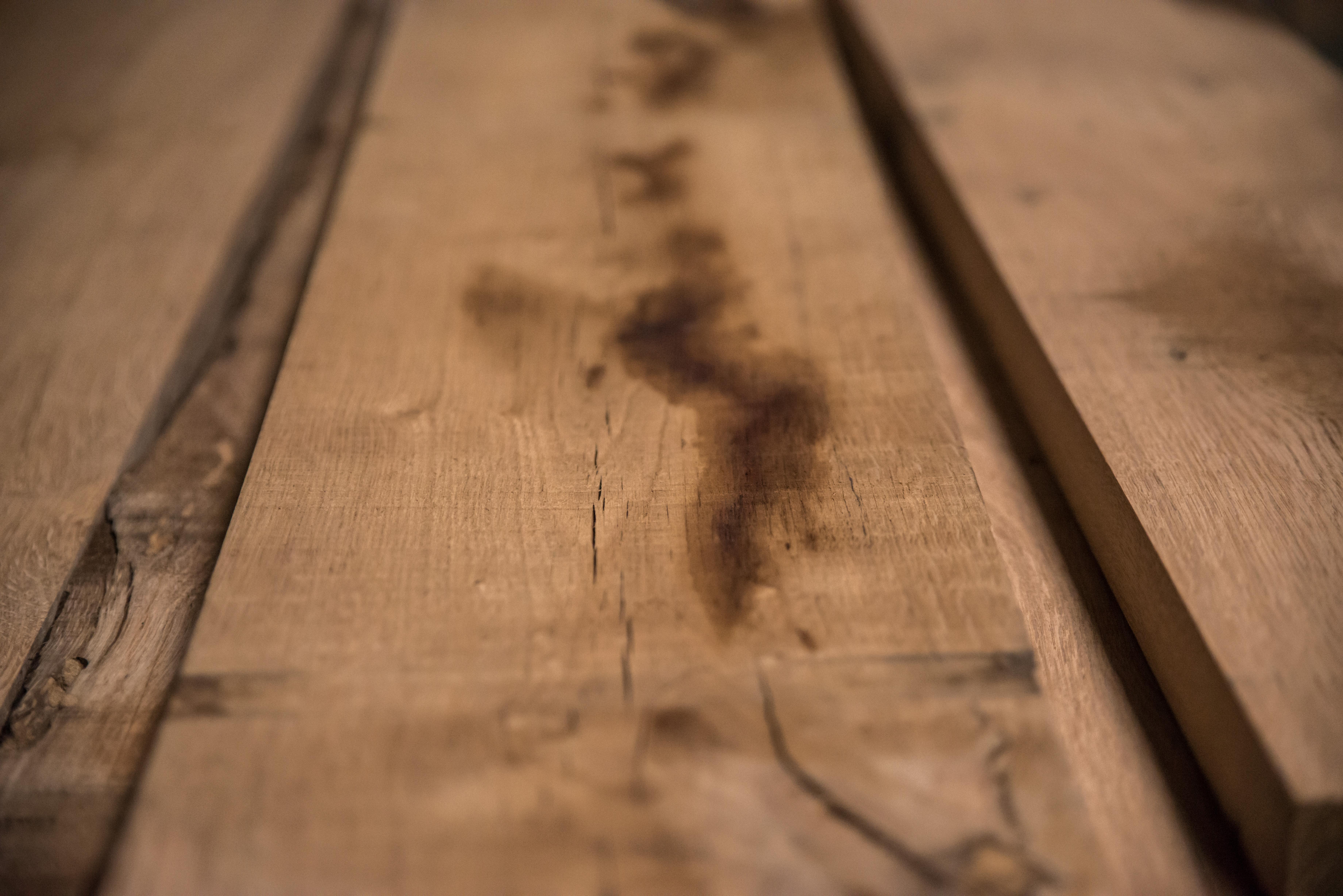 Verouderde eikenhouten planken elder oak